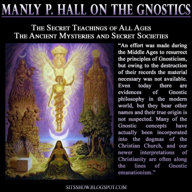 Gnostic Manly P Hall MEME